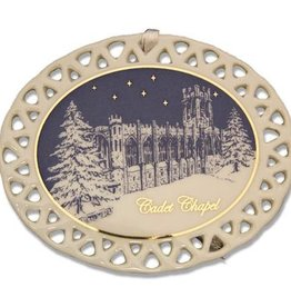 Cadet Chapel Christmas Ornament (D. Remine)