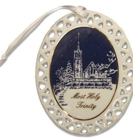 Catholic Chapel Christmas Ornament (D. Remine)