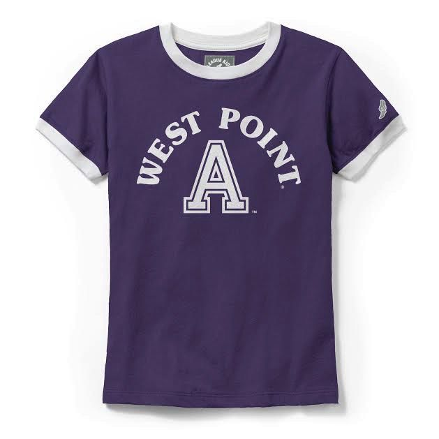 Girls Camp Ringer Tee (League)