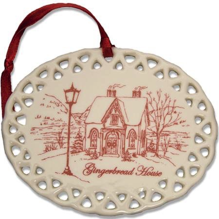 Gingerbread House Christmas Ornament (D. Remine)