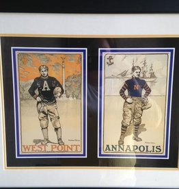 Football at West Point: West Point & Annapolis (Framed)(Print, 16 x 20)