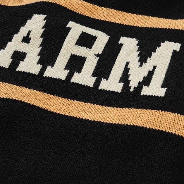 Army Retro Stadium Sweater (Hillflint)