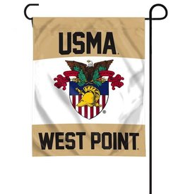 West Point Crest Garden Flag