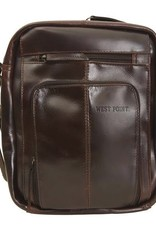 Monterey Canyon Leather Media Bag (West Point) (Drop Ship)