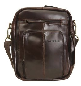 Monterey Canyon Leather Media Bag (West Point)