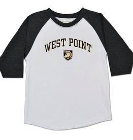 Home Run Raglan (WP Baseball Tee w/Shield) (Toddlers)
