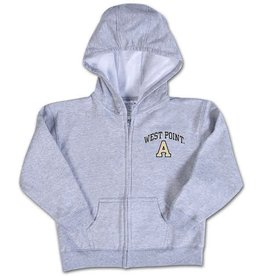 "Infant Zip Hood (West Point/Block ""A""/Gray or Pink)"