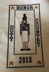 Cadet Sampler Cross Stitch Kit (Female Cadet) (The Posy Collection)