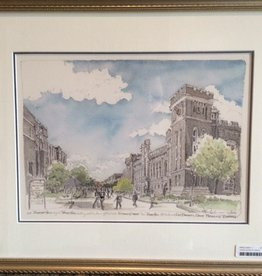 Framed Thayer Walk Looking South Print (MMullin)