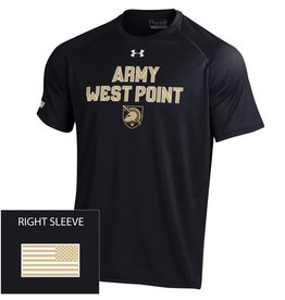 "Under Armour/"" Army West Point"" Tech Tee with Flag"