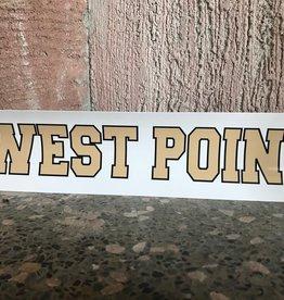 West Point Bumper Strip, 3 x 12
