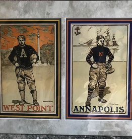 Football at West Point: West Point & Annapolis (Matted/Unframed,  14 by 18 inches)