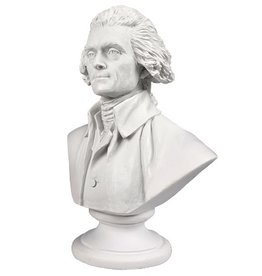 Mini Thomas Jefferson Bust (3 Inch)