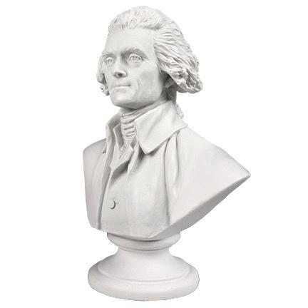 Mini Thomas Jefferson Bust (3 Inch)
