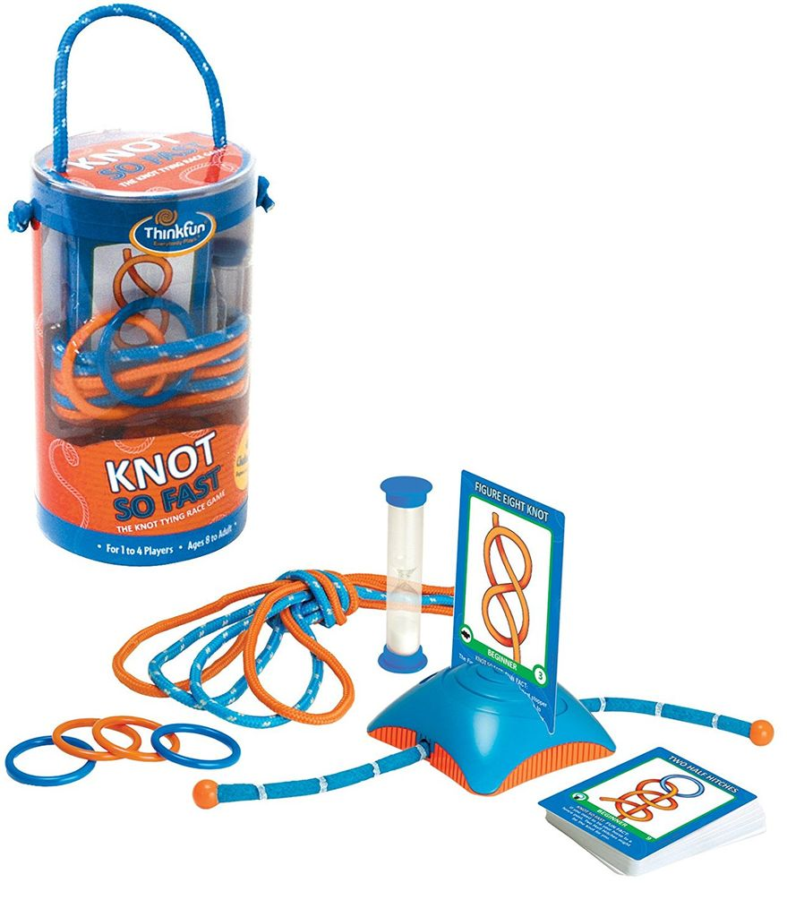 PUZZ Knot so Fast:The Knot Tying Race Game