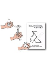 GATO Self-Folding Origami Bird   Pajarita Automatica