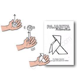 GATO Self-Folding Origami Bird | Pajarita Automatica