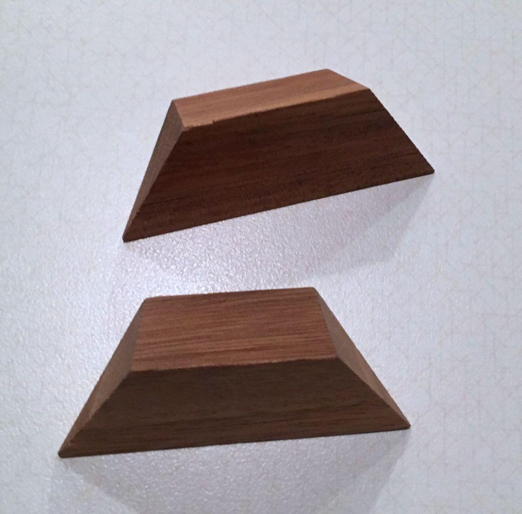 PUZZ Small 2 Piece Pyramid Puzzle