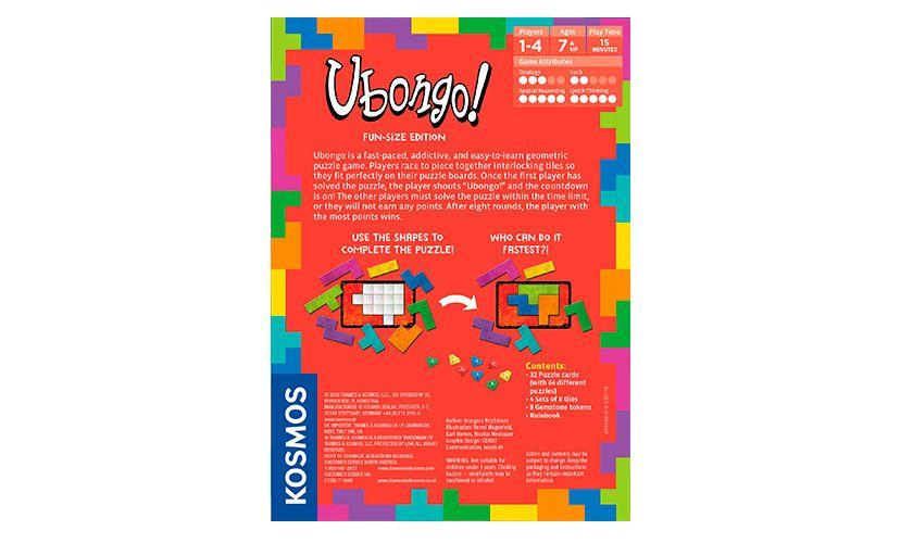 GATO Ubongo Fun-Size Edition
