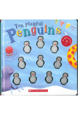 BODV Ten Playful Penguins