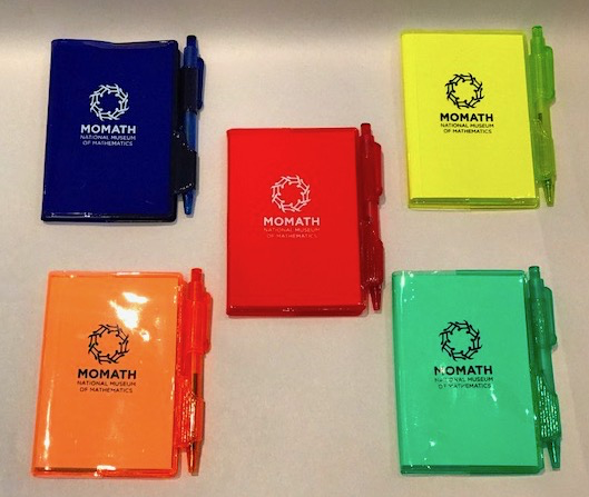 TRIN MoMath Mini Notepad