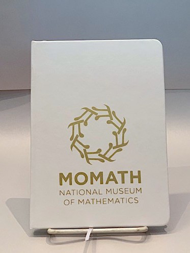 HOME MoMath White & Gold Journal