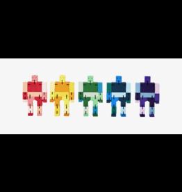 PUZZ Cubebot, Green Multi, Micro