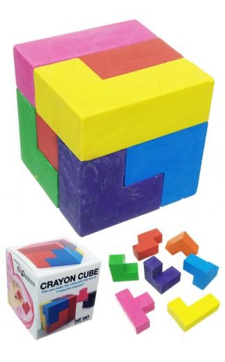 PUZZ Crayon Cube Puzzle