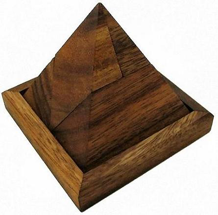 PUZZ 5 Pieces Pyramid Puzzle