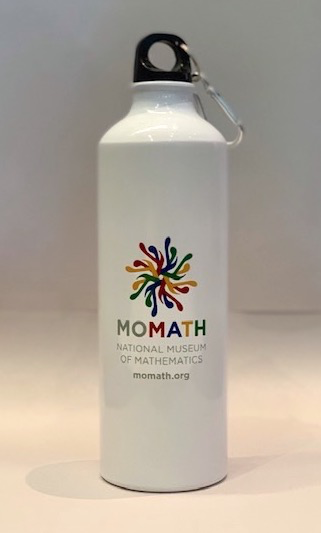 HOME MoMath Water Bottle