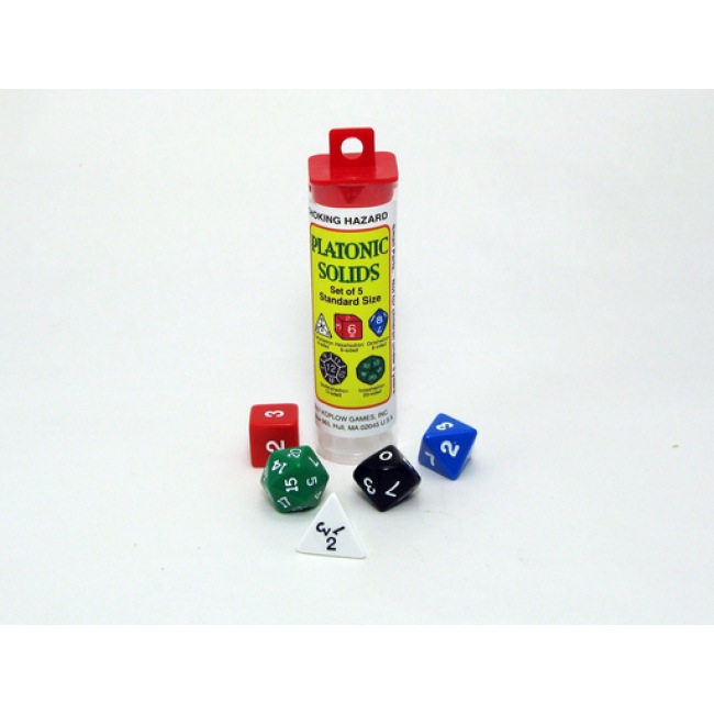 GATO Platonic Solids Dice Set