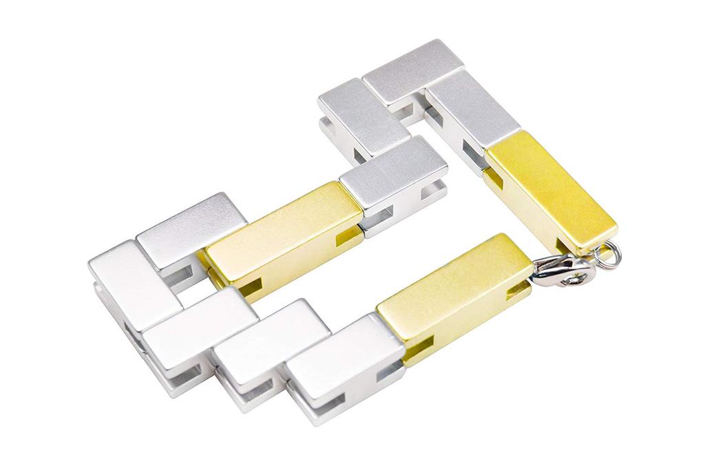 JEWE Puzzle Bracelet Cube