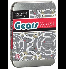 HOME Gear Pattern Design Magnet