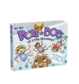 BODV Poke-A-Dot: 10 Little Monkeys