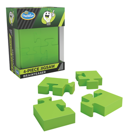 GATO Pocket Brainteaser: 4-Piece Jigsaw Puzzle