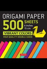 BODV 500 Origami Paper: Vibrant Colors