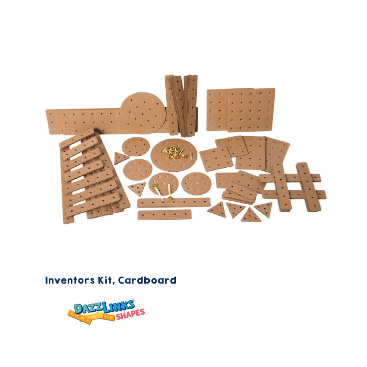 GATO DazzLinks Shapes, Cardboard Inventors Kit