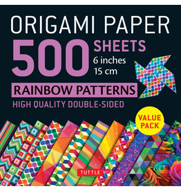 BODV Origami Paper: Rainbow Patterns