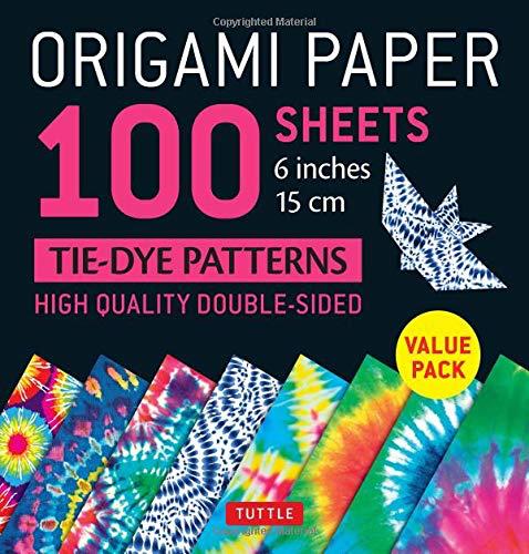 BODV Origami Paper: Tie-Dye Pattern