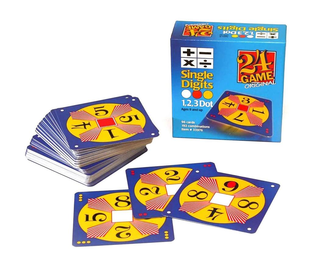 GATO Single Digits 24 Game