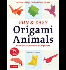BODV Fun & Easy Origami Animals