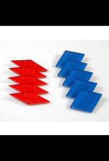 GATO Star Magnet Set - 5 Red 5 Blue
