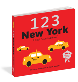 BODV 1 2 3 New York: A Cool Counting Book