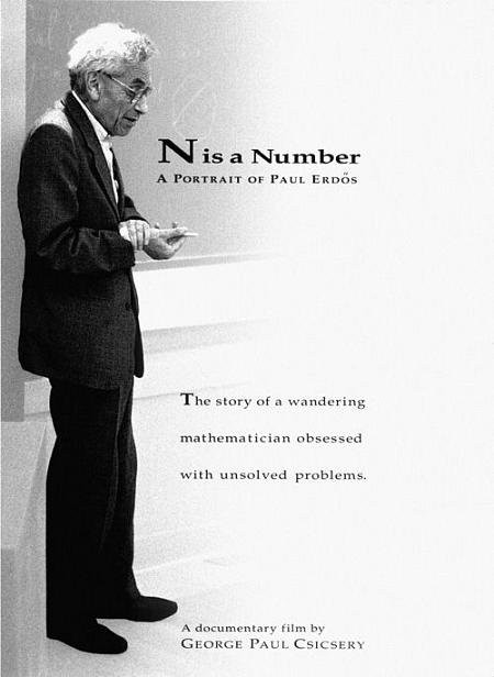 BODV N is a Number: A Portrait of Paul Erdos (DVD)