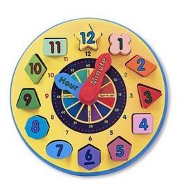GATO Shape Sorting Clock
