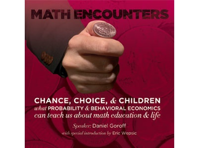 BODV Math Encounters | Chance, Choice, & Children (DVD)