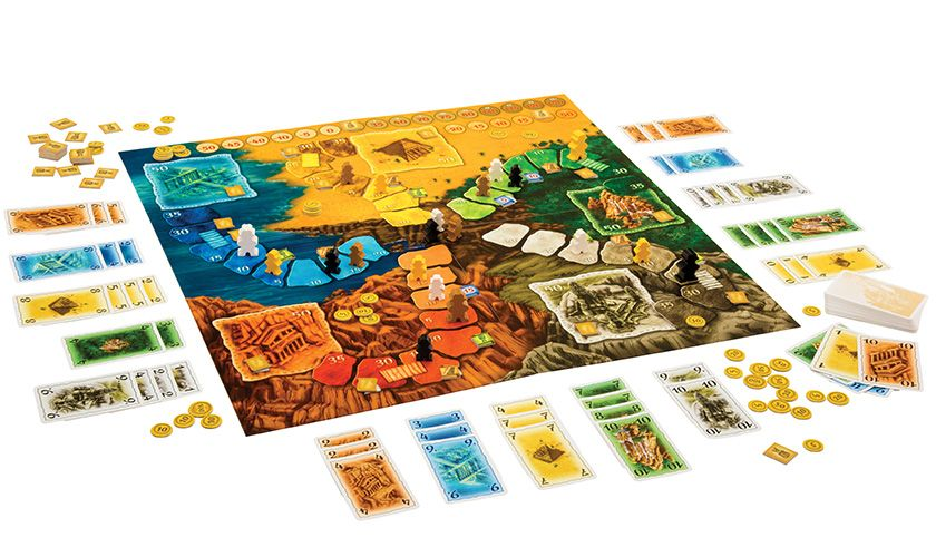 GATO Lost Cities Board Game
