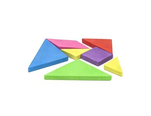 TRIN Tangram Erasers