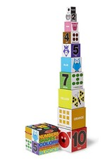 GATO Nesting and Stacking Blocks: Numbers, Shapes, and Colors