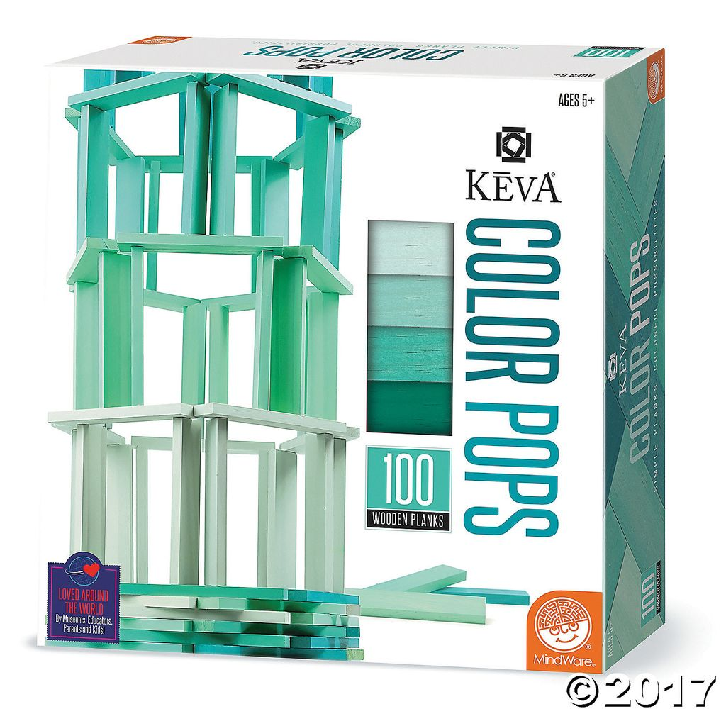 GATO KEVA Color Pops - Teal